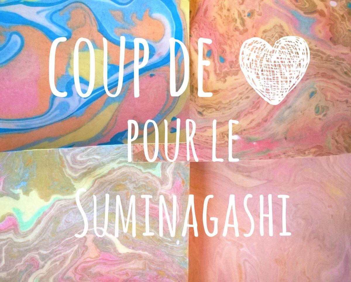 Mercredi c'est Suminagashi !