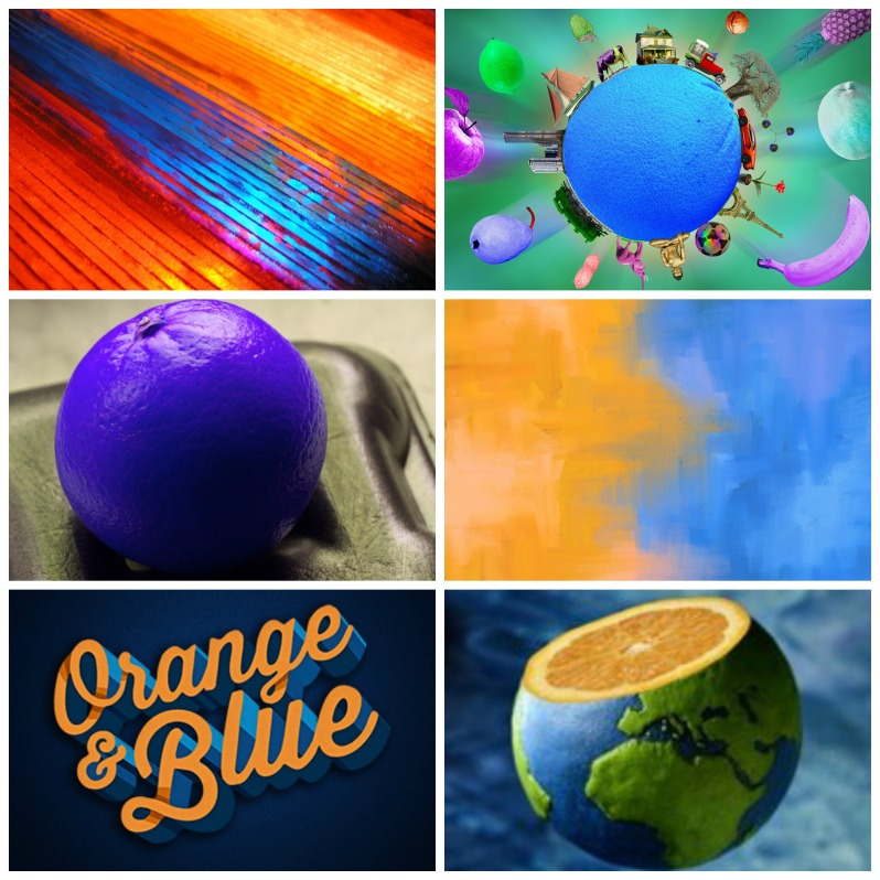 Bleue comme une orange