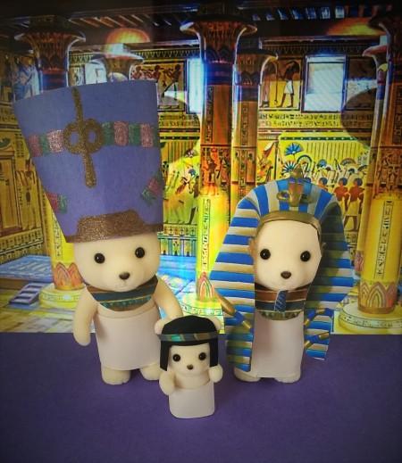8.le pharaon, la reine le prince