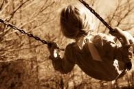 Little-Child-Girl-Swing-Sepia-HD-Wallpaper
