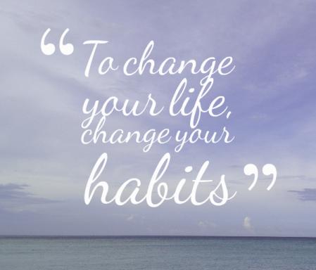 change-habits