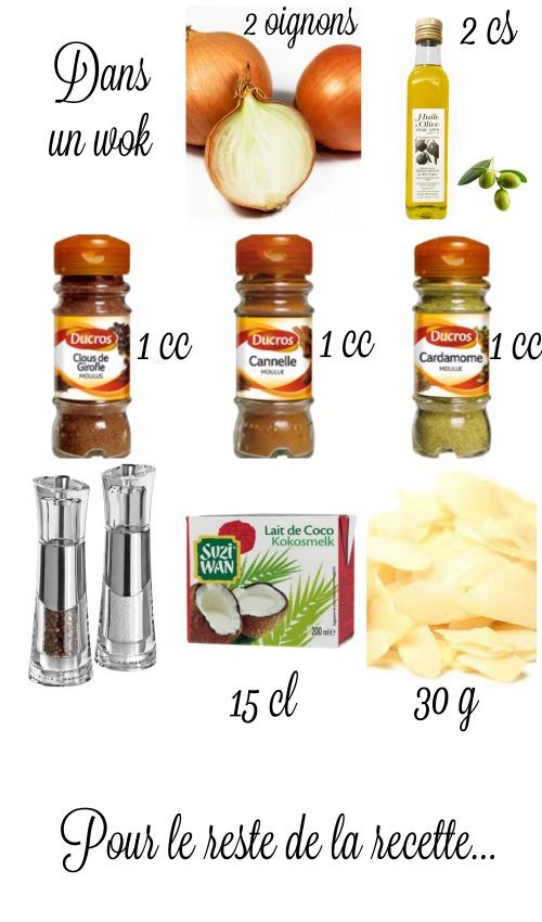 poulet korma recette
