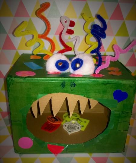 un monstre à croquer DIY 6