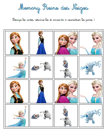 La reine des neiges le cahier d activit s imprimer je ne suis pas une super maman mais j 39 y - Jeux gratuit la reine des neige ...