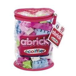 ecoiffier-briques-de-construction-abrick-sac-tube-50-pieces-roses-121585-1-600