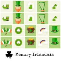 Irish Memory: apprendre l'anglais en s'amusant!