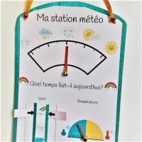 Faire la pluie et le beau temps: ma station météo à imprimer