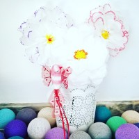 Un bouquet de mouchoirs en papier [DIY minute]