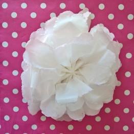 fleurs mouchoir en papier DIY (7)