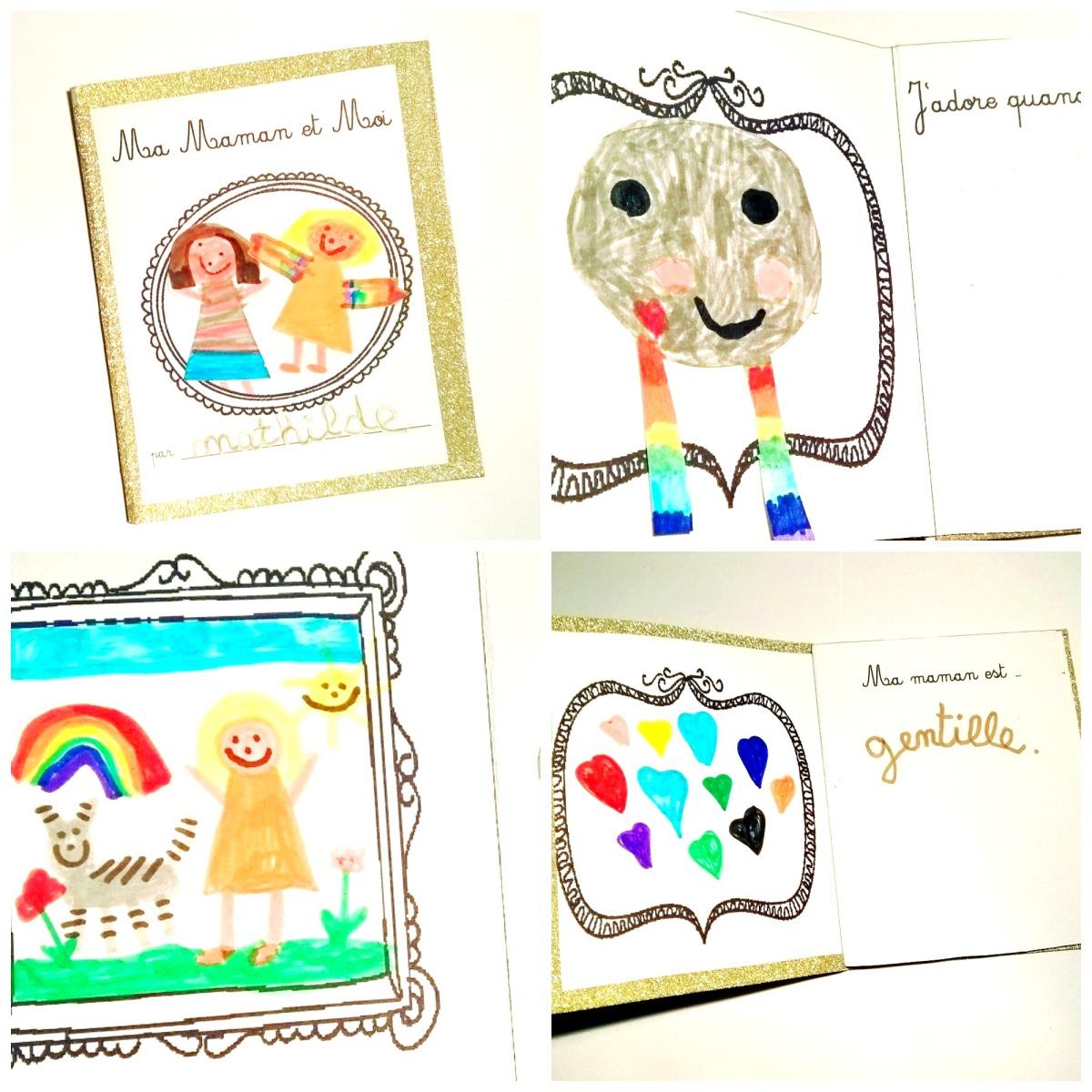 Ma maman et moi : un livre personnalisé pour la fête des mères [free printable]