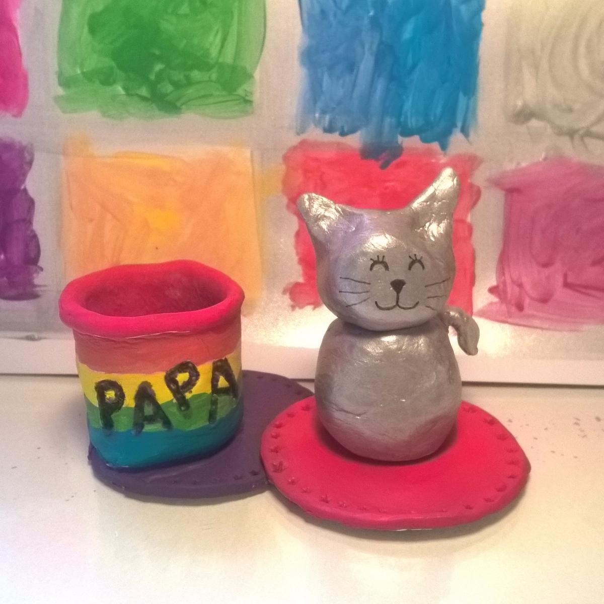[DIY] Un pot à crayons arc-en-ciel pour les papas