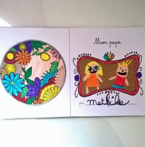 Mon papa livre à colorier et à personnaliser animaux de la jungle (3)