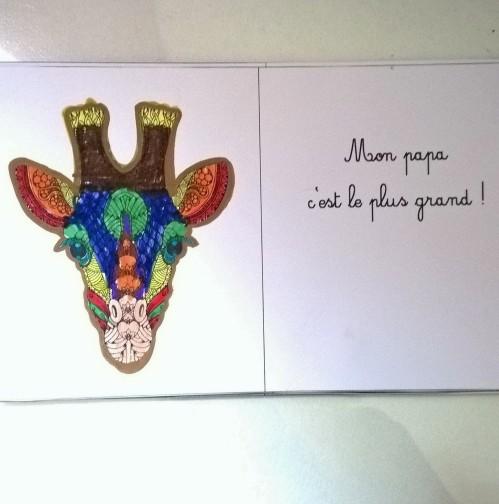 Mon papa livre à colorier et à personnaliser animaux de la jungle (4)