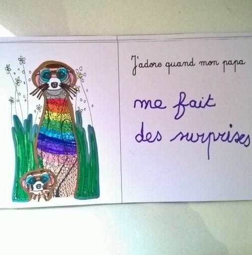 Mon papa livre à colorier et à personnaliser animaux de la jungle (5)
