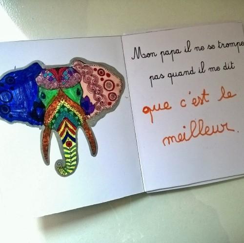 Mon papa livre à colorier et à personnaliser animaux de la jungle (8)