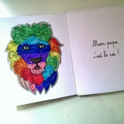 Mon papa livre à colorier et à personnaliser animaux de la jungle (9)