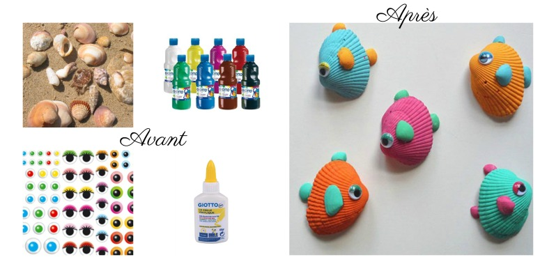 poissons coquillage