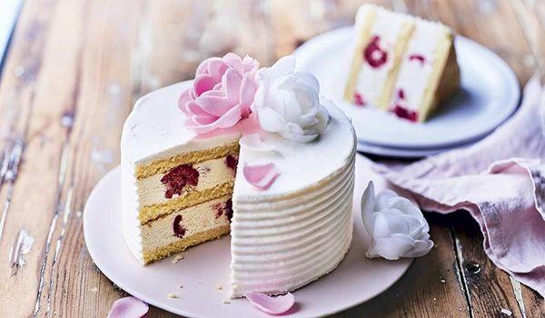 gateau vanille franboise pistache PIcard