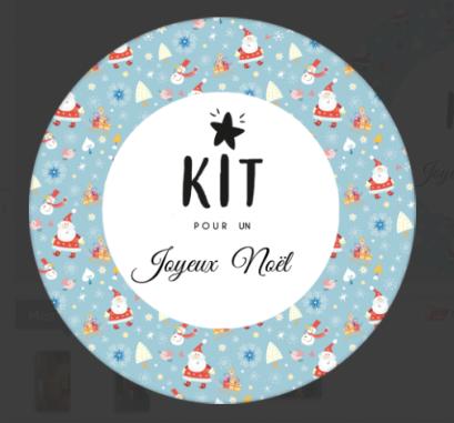 kit joyeux noel
