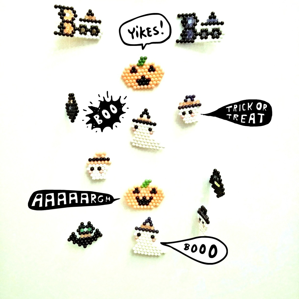 Un mobile effrayant pour Halloween
