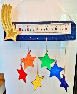 Calendrier de l'avent étoilé et ses étoiles à gratter (3)