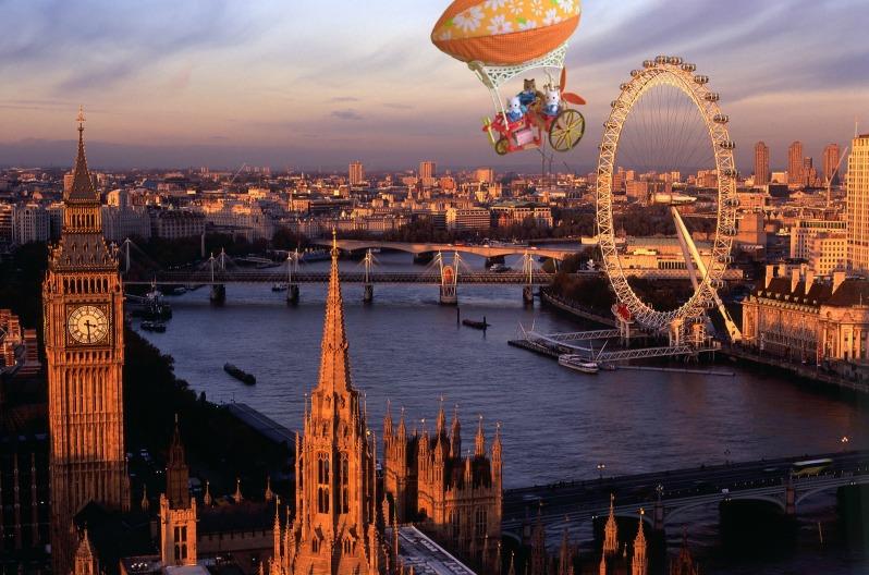 Les Sylvanian à Londres 1