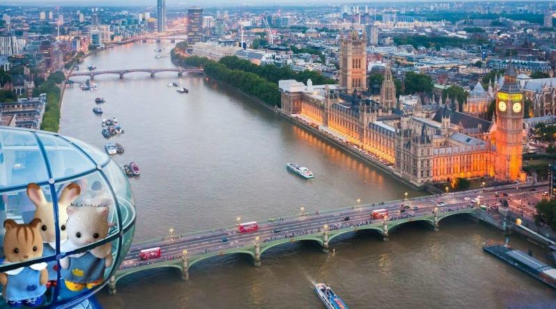 Les Sylvanian à Londres 13