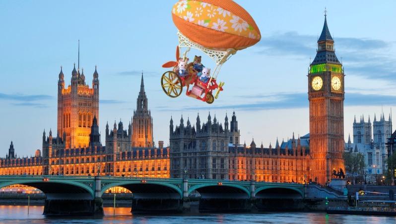 Les Sylvanian à Londres 2