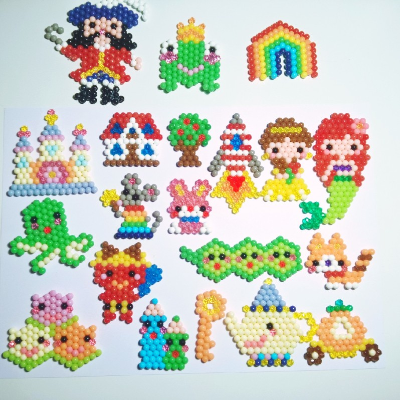 Jeu Aquabeads Pioche & Imagine