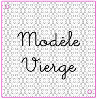 modèle vierge
