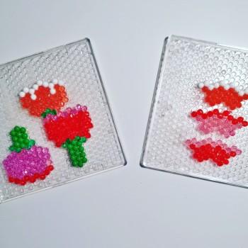 Carte bouquet de fleurs Aquabeads fete des meres (3)
