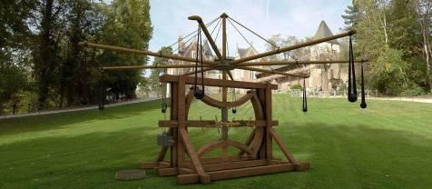 Invention Léonard de Vinci Clos Lucé