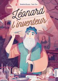 Léonard l'inventeur couverture