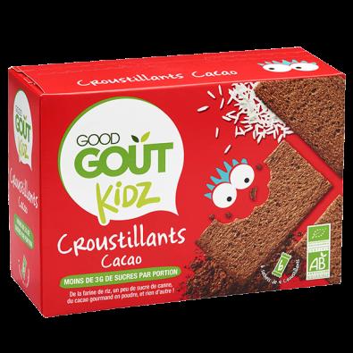 croustillant cacao good gout