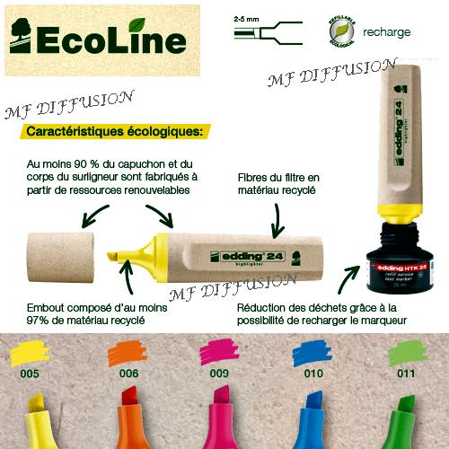 Surligneur-Ecoline-rechargeable-5-couleurs-1