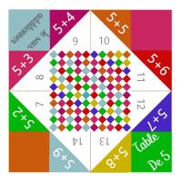 Des cocottes en papier pour apprendre les tables d'addition [PRINTABLE]
