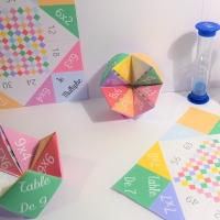 Des cocottes en papier pour apprendre les tables de multiplication [PRINTABLE]