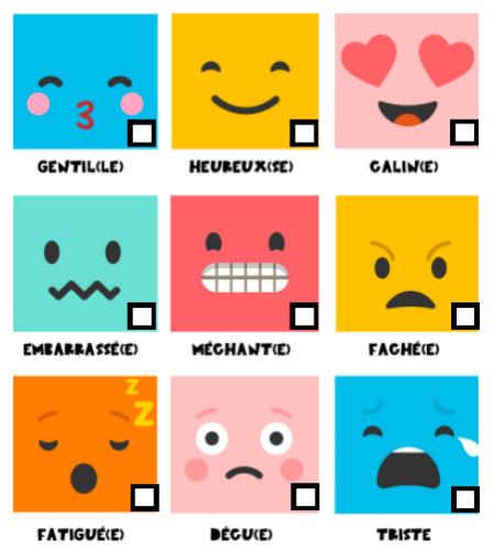 journal émotions