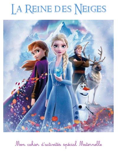 la reine des neiges cahier activite gratuit